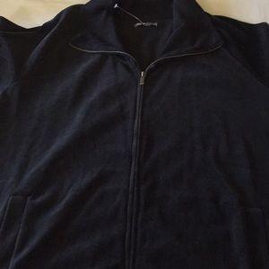 Gap Velour Zip Up Jacket